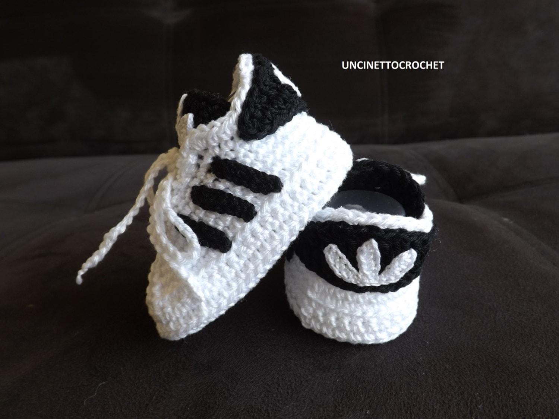 ADIDAS PATTERN SUPERSTAR Baby crochet adidas newborn