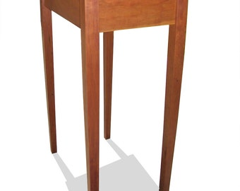 Solid Cherry Shaker End Table without Drawers