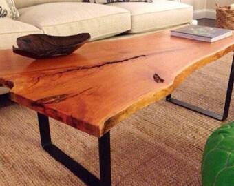 YOUR CUSTOM Listing  Salvaged Live Edge Slab Coffee Table