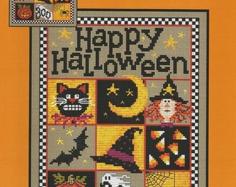 "SUE HILLIS DESIGNS ""Happy Halloween"" 