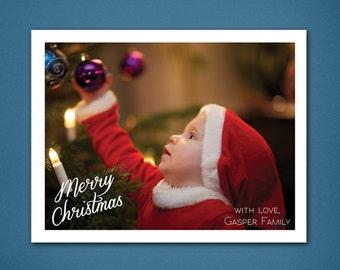 DIGITAL Christmas Card • Simply Sweet Christmas • Christmas • Holiday Cards • Greeting Card • Photograph Greeting Card • 4x6