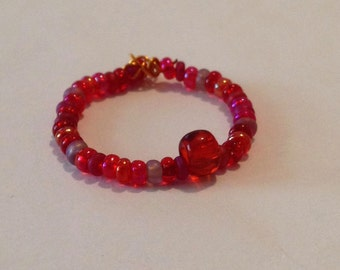 Red Simple Ring