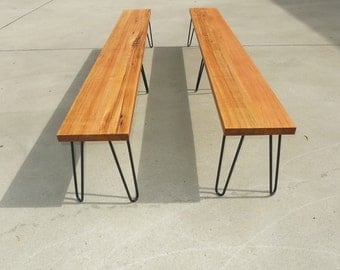 Tasmanian Oak Timber benches