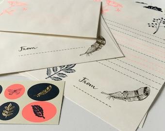 Letter paper with envelopes (LS01)