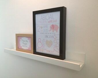 One Born - New Baby Print