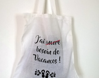 Tote Bag - Bag - Tote - white-holiday