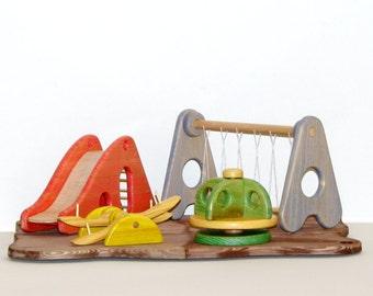 wooden playground - ξύλινη παιδική χαρά