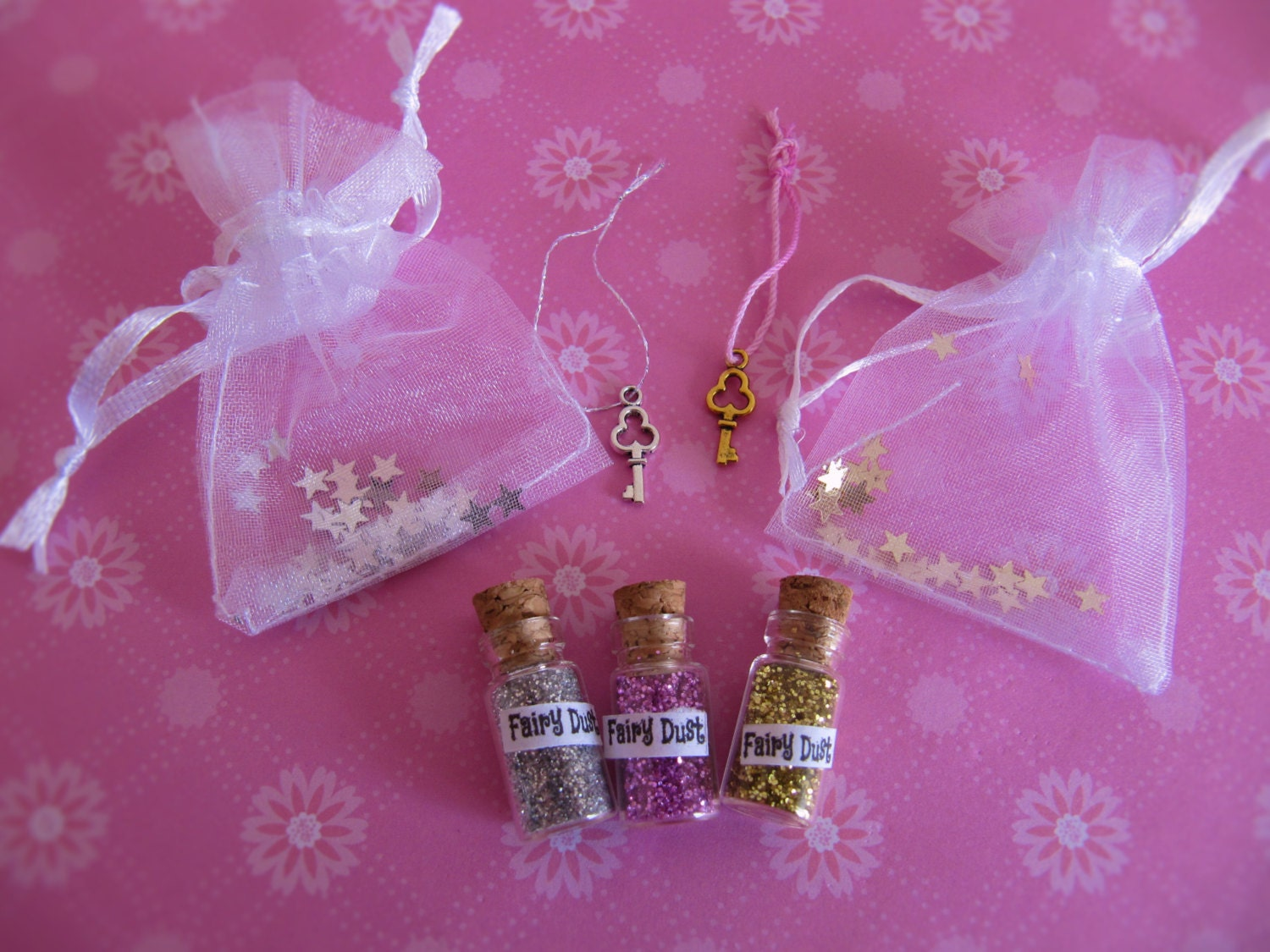 Fairy dust and a fairy key fairy door by abearcalledcorduroy for Fairy door with key
