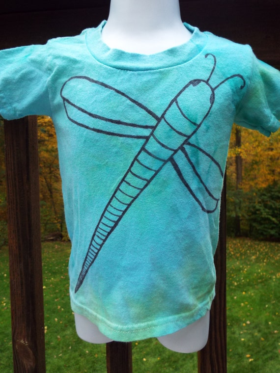 Custom tie dye dragonfly shirt kids tie dye nature kids for Custom tie dye t shirts