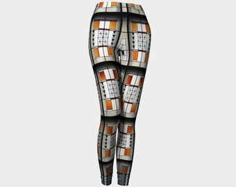 F L W  Leggings   Womens Teens Ladies Clothes Exercise Fashion Wearable Art Clothing Ladies XS S M L XL