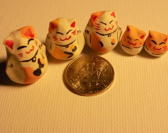 Clay Cat Family
