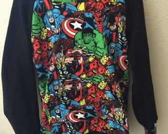 Marvel hoodie size 3-4