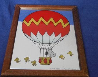 Snoopy Peanut Mirror  1965
