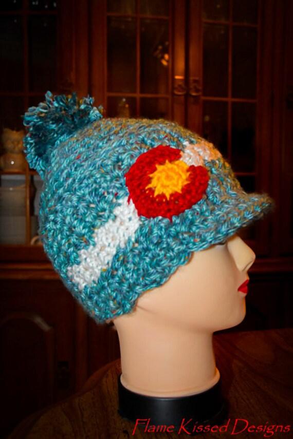 Colorado Logo hat with brim