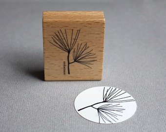 Stamp Pine-tree branch - Pininenzweig