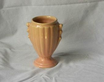Peach Shawnee Vase USA