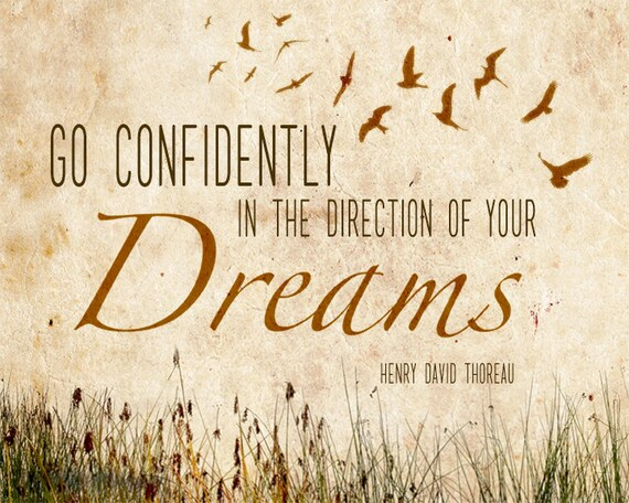 Henry David Thoreau Classic Inspirational By EchoLiteraryArts