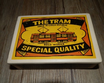 Ceramic box with lid - The Tram