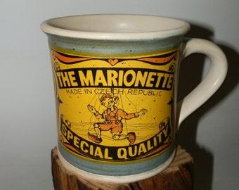 Handmde Cofee/Tea Ceramic mug - The Marionette - Special Quality