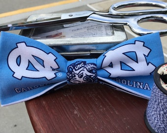 North Carolina Tarheel bow tie