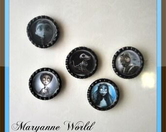 Corpse Bride - fridge magnet