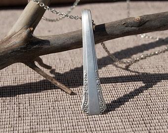Silverware Handle Necklace - NSC016