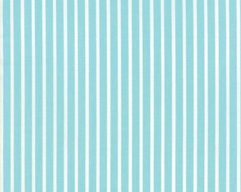 Daysail Teal Stripe by Bonnie & Camille for Moda Fabrics by the yard