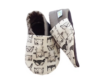 Woodland Friends Baby Shoes