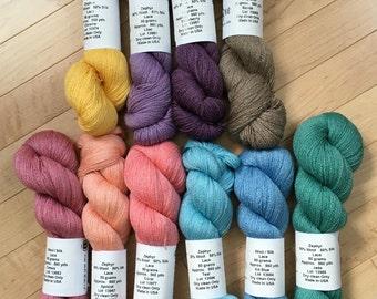 Jaggerspun Zephyr Wool-Silk Skeins Laceweight