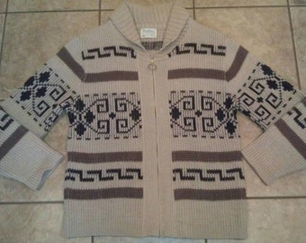 Vintage Pendleton THE BIG LEBOWSKI The Dude Sweater Extra Large Identical