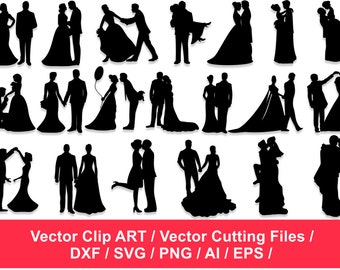 Wedding silhouette etsy silhouette clipart couples silhouettes lovers silhouettes cupid silhouettes wedding silhouettes clip art junglespirit Choice Image