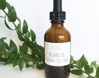 Beard Oil: Cedar + Tea Tree