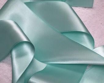 Mint Ribbon/Light Mint Green Satin Ribbon/Bridal Dress Sash/Wedding Dress Sash/Green Wedding Belt/Mint Bridal Belt/Mint Satin Ribbon