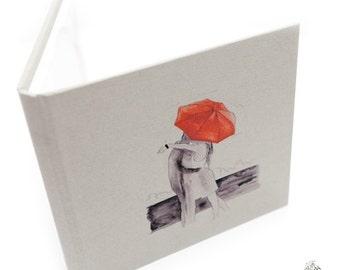 Handmade Love, Romantic, CD,DVD case - Kiss in the Rain - neodymium magnets