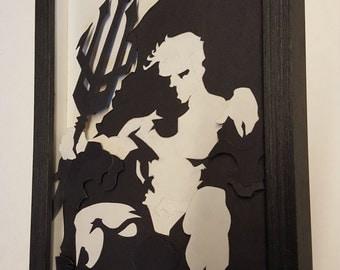 Aquaman 3D Shadowbox