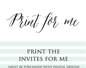 Print My Invites