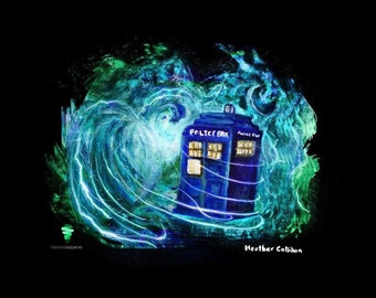 Limited Edition Dr. Who Shirts features The Tardis!!!