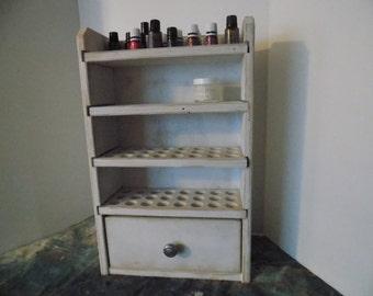 Essential Oil Shelf Storage shelf 96ct with drawer - Rebecca