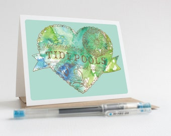 I Love Exploring Tidepools With You - Greeting Card