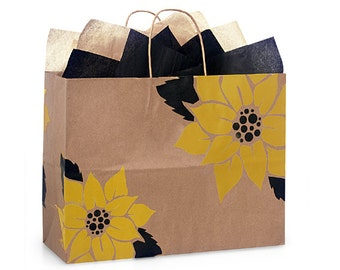 Gift Bag/Gift Wrapping Service/Sunflower Gift Bag/Gift Bag For Her/Spring Gift Bag/Hassle Free Wrapping Service