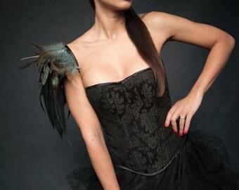 Gusset Black beauty corset