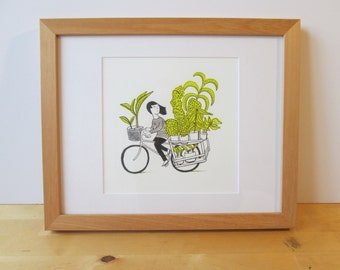 Cycling with Plants