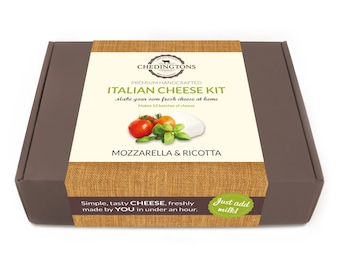 Make Your Own Italian Cheese Kit - Mozzarella & Ricotta - Makes 12 batches