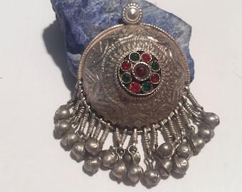 Antique Pendant,Handmade,Indian Vintage Pendant,antique silver Pendant