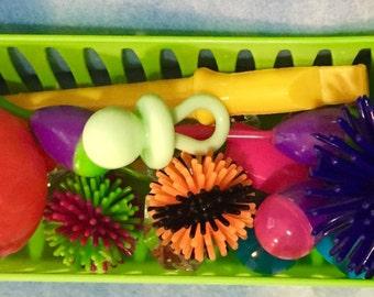 Bluebonnet Hedgehog Toy Basket