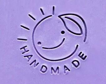 Handmade Soap Stamp Sun Soap Stamp Smiling Sun Soap Stamp Mini Soap Stamp Smiling Face Soap Stamp