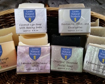 All-Natural Bar Soaps - Great for the Skin and Homemade