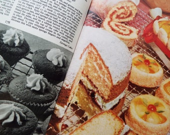 Vintage Good Housekeeping's Picture Cookery Book, 1959. Retro recipes and an excellent large baking section, perfect for tea party cakes!