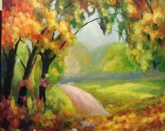 The autumn 2. Road