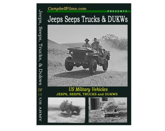 Jeeps Seeps Trucks and DUKWS